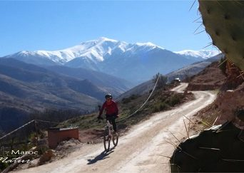 mountain bike tour Atlas Mountains